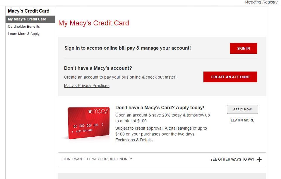 BTC Bank Visa® Credit Card Account