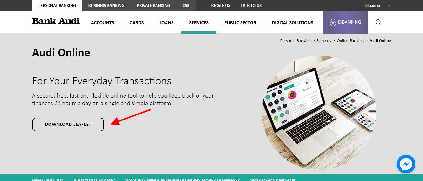 log in to bank audi, beirut, lebanon 's internet online bank | log in
