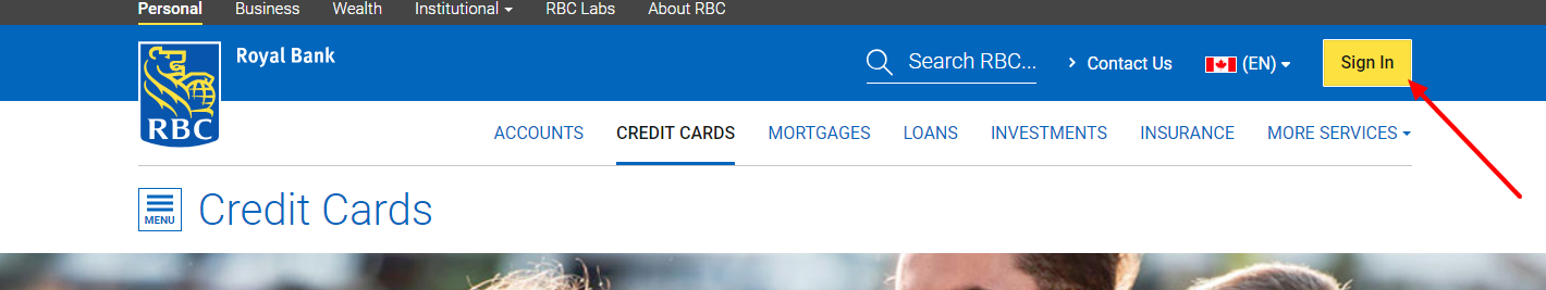Log in to your RBC Visa® Cash Back Card Account - Log In