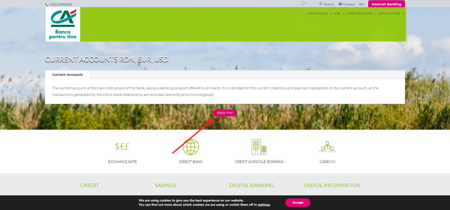 Credit agricole online